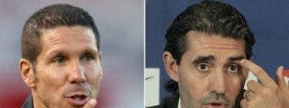 Simeone y Caminero emulan el conflicto madridista Mourinho-Valdano