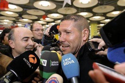 """Simeone pide a la afición colchonera """"confianza y tranquilidad"""""""