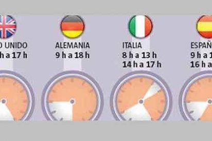 España no logra racionalizar el tiempo de trabajo