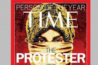 El 15-M y la protesta global, personaje del año para la revista 'Time'