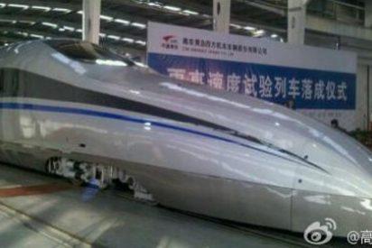 China prueba un 'tren bala' que viaja a 500 kilómetros por hora