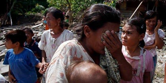 Vuelve a casa una niña desaparecida en el tsunami de Sumatra de 2004