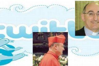 Cardenales, obispos, curas, frailes y monjas que twittean