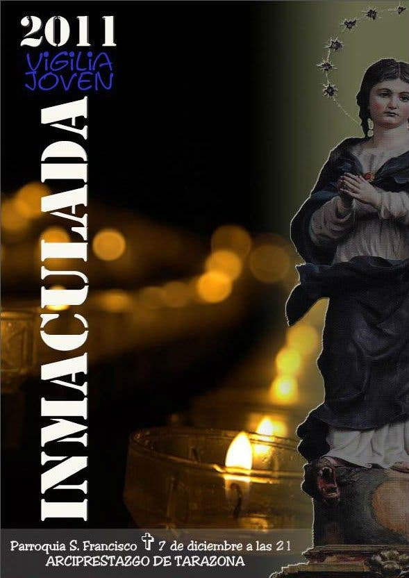 Vigilia joven 'Inmaculada 2011' en Tarazona
