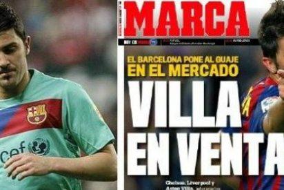 'Marca' pone en venta a David Villa y Guardiola asegura desde Japón que mienten