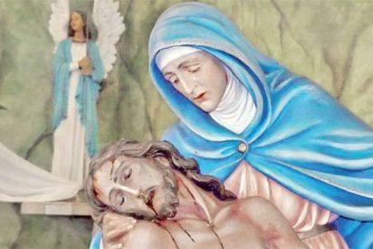 """Conmoción en Argentina por una """"virgen que llora"""""""