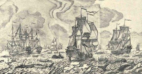 pescadores vascos.