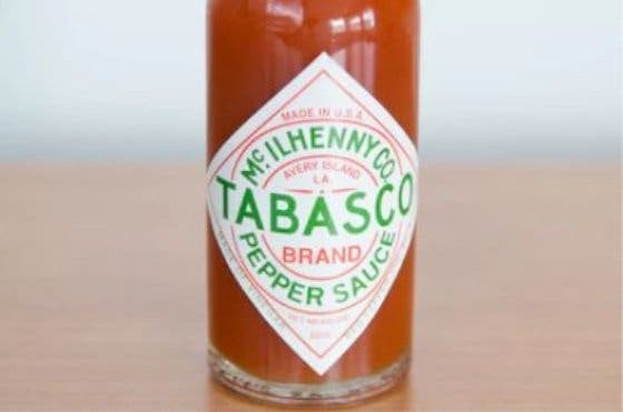 salsa de tabasco