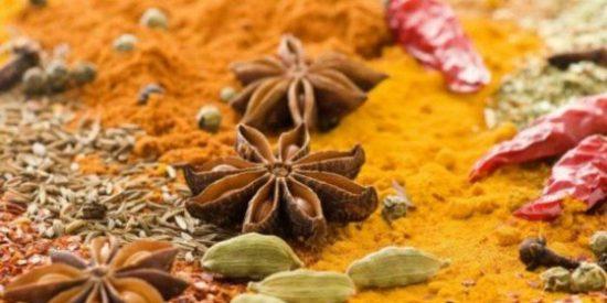 especias de la India el curry