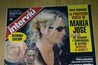 """El poder del dinero: Mª José Galera ('GH1') se desnuda para 'Interviú', la misma revista que destapó su pasado como prostituta y le """"marcó de por vida"""""""