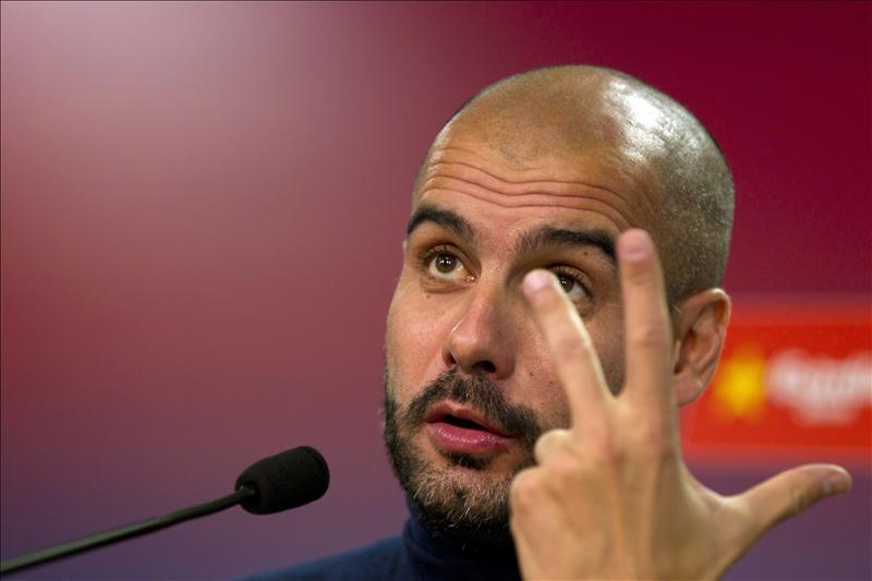 """Guardiola: """"Si se calienta mucho el ambiente es que el culé no ha aprendido"""""""