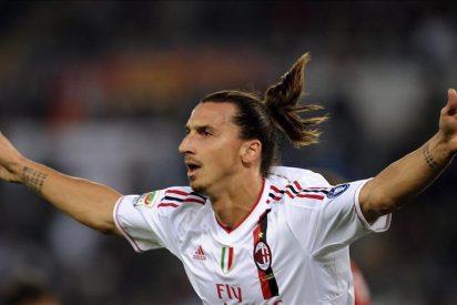 El Milan golea y continúa pisándole los talones a la 'Juve'