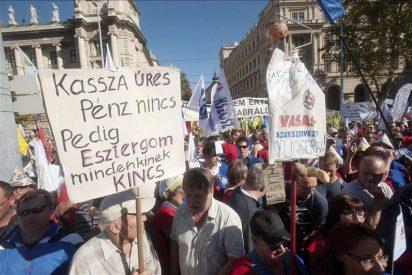 La oposición húngara se rebela contra el Gobierno conservador