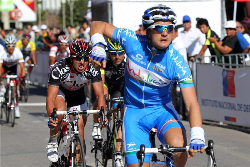 El español Juan José Lobato gana la segunda etapa de la Vuelta a Chile