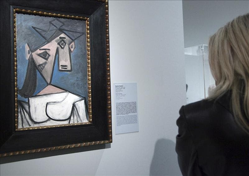"""Roban una """"Cabeza de mujer"""", de Picasso, de la Galería Nacional de Atenas"""