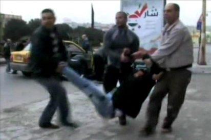Una marcha de protesta intenta entrar en Siria desde territorio turco