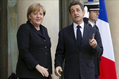 Merkel y Sarkozy ofrecen un plan de seis puntos a Van Rompuy para la cumbre de la UE