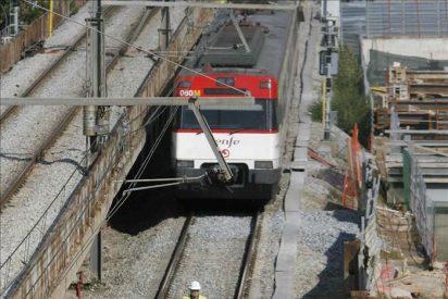 Un choque de dos trenes en Barcelona deja 25 heridos por contusiones