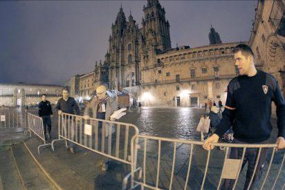 La cúpula del PP asiste al homenaje a Fraga en la catedral de Santiago