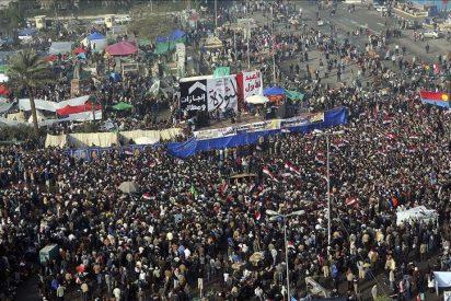 Decenas de miles de egipcios celebran en Tahrir el aniversario de revolución
