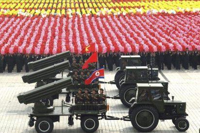 Pyongyang prepara un gran desfile militar para el centenario de su fundador