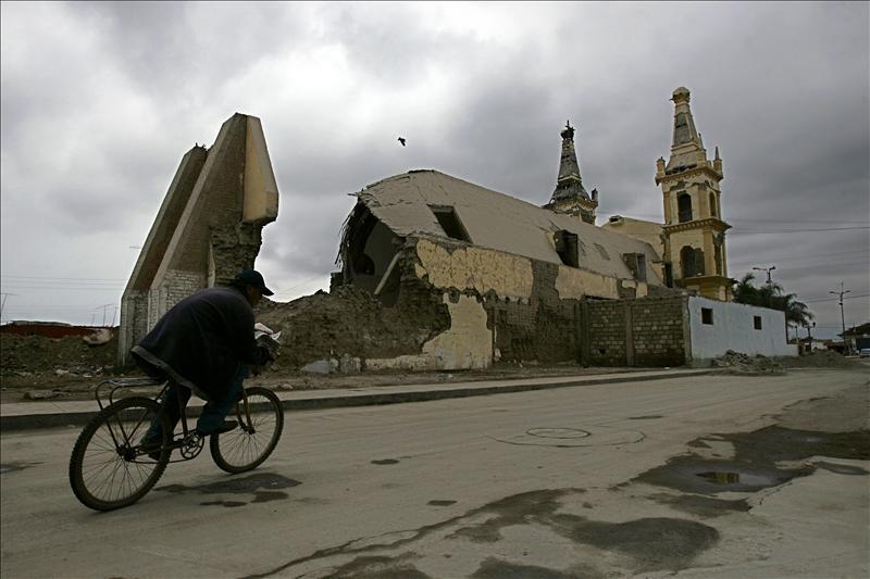 Un terremoto de magnitud 6.3 en la costa de Perú