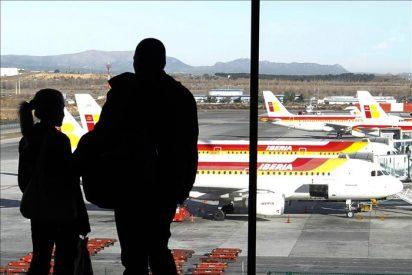 Iberia cancelará hoy 123 vuelos en la séptima jornada de huelga de pilotos