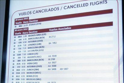 Los pilotos de Iberia se suman a los paros de colectivos de tierra y cabina