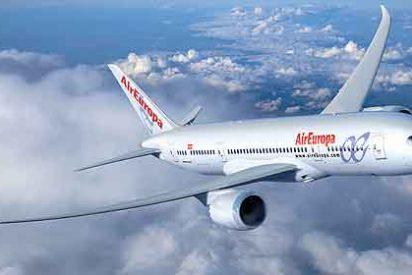 Air Europa despide a 260 empleados, el 8,5% de su plantilla