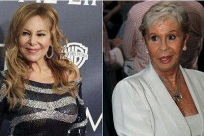 Lina Morgan acompaña a Ana Obregón en su regreso a TVE