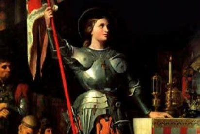 Francia recuerda a Juana de Arco
