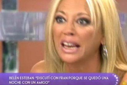 """Belen Esteban, desquiciada contra Paz Padilla en 'Sálvame': """"!Estás todo el día con el cuchillo. Te crees que porque eres la presentadora tienes derecho a todo"""""""