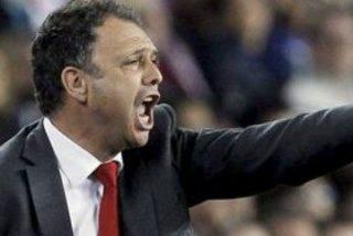 """Caparrós (Mallorca): """"Ha faltado un poco de fortuna, pero no a nosotros sino al árbitro"""""""