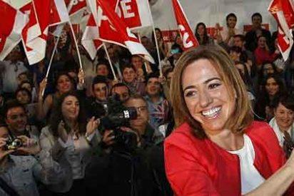 """Hackean la web de Carmen Chacón: """"Tú apoyaste el 'Puta España', PUES YO PARA PRESIDENTA A.... ¡¡¡TÚ PUTA MADRE!!!"""""""