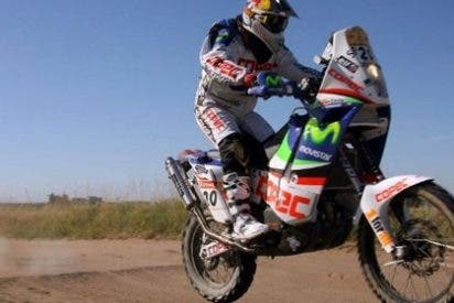 'Chaleco' López y Leonid Novitsky primeros líderes del Dakar 2012