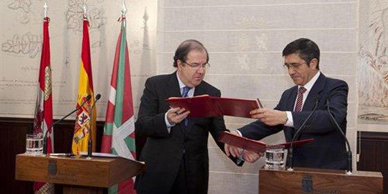 Castilla y León y País Vasco coordinan sus servicios a los ciudadanos
