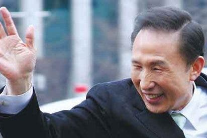 Lee se marca como objetivo la paz en la península coreana