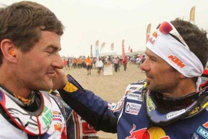 Peterhansel y Despress se coronan campeones del Rally Dakar 2012