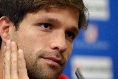 """Diego: """"Mi presente y mi futuro, de momento, está en el Atlético de Madrid"""""""