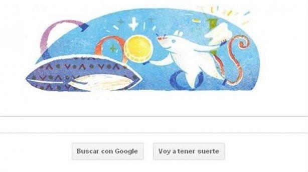 Doodle en honor al Ratoncito Pérez