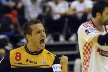 España gana a Croacia en el Europeo de balonmano de Serbia (24-22)
