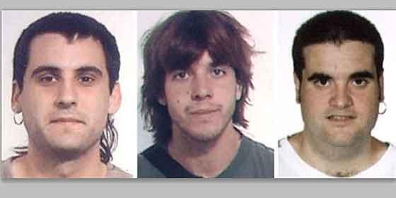 Los gendarmes franceses atrapan a 3 etarras con armas y explosivos