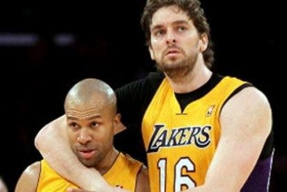 Derek Fisher da la victoria a los Ángeles Lakers ante Dallas Mavericks (73-70)