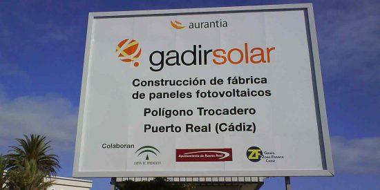 Gadir Solar plantea ampliar el ERTE
