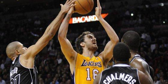 Lebron James se impone a los Lakers de Gasol y Kobe Bryant (98-87)