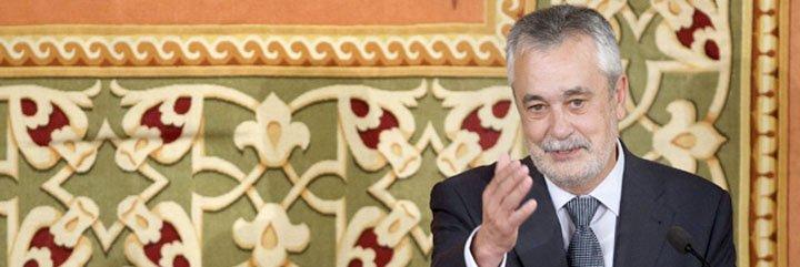 """Griñán saca su lado más populista: """"Los socialistas sabemos estar con el que sufre, no sólo con el poder"""""""