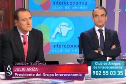 """Julio Ariza en 'El Gato al Agua': """"El cambio de Gobierno no ha supuesto ningún cambio para Intereconomía"""""""
