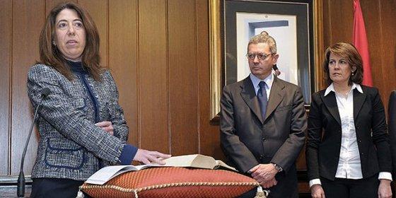 """Carmen Alba espera el """"desmantelamiento completo"""" de ETA"""