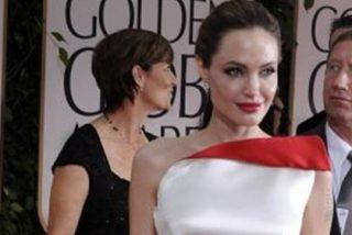 La extrema delgadez de Angelina Jolie le roba protagonismo en los Globos de Oro