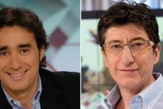 Juanma Castaño (Cuatro) y Juan Carlos Rivero (TVE) se enfrentan en Twitter defendiendo a sus cadenas